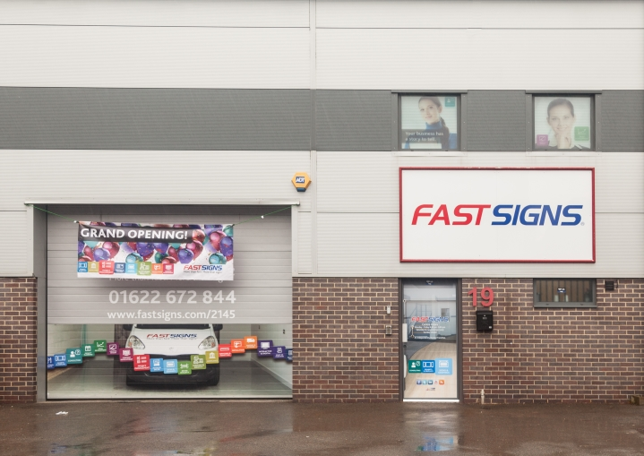 FASTSIGNS Grand Opening